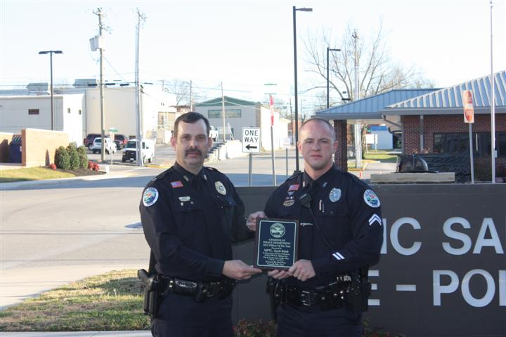2012 Officer of the Year