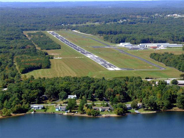 aerial photo Cross Airport Small